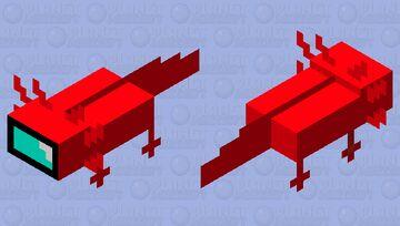 AMOGUS axolotl Minecraft Mob Skin