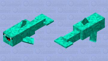 Derpy Dolphin Minecraft Mob Skin