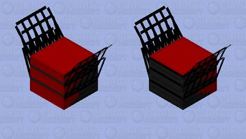 Collapsible bleachers Minecraft Mob Skin