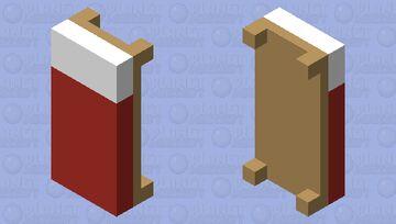 3 Color Bed Minecraft Mob Skin