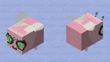 Shiny Celebi - Pokemon Bee Replacer Minecraft Mob Skin