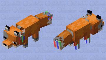 Withered Fox animatronic Minecraft Mob Skin