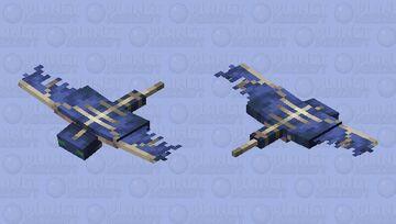Updated Phantom wings Minecraft Mob Skin