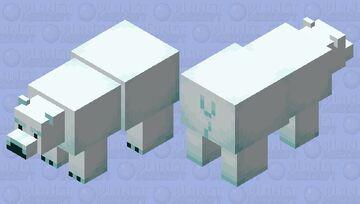 More Blue Bear Minecraft Mob Skin