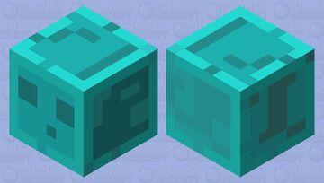 Toxic Slime Cube Minecraft Mob Skin