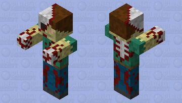 a Zombie Minecraft Mob Skin