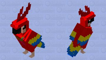 Cute HD Birb =P (name Straw berry) Minecraft Mob Skin
