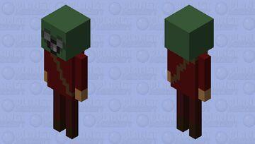 Nether Cultist Minecraft Mob Skin