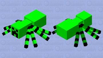 spider-creeper Minecraft Mob Skin