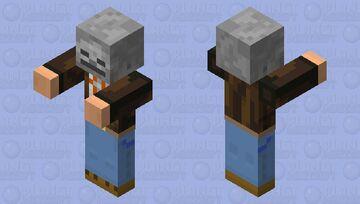 zombi Minecraft Mob Skin
