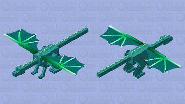 Glow dragon Minecraft Mob Skin