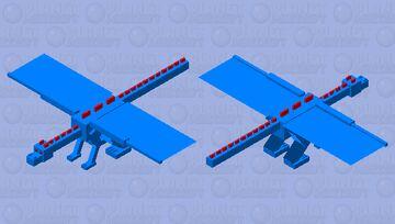 The Blue Dragon Minecraft Mob Skin