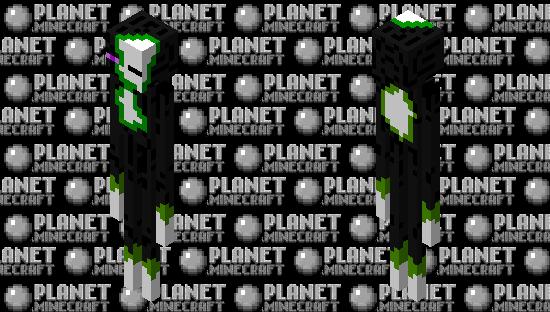 Zombie Enderman Minecraft Skin