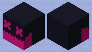 Corrupted magma cube Minecraft Mob Skin