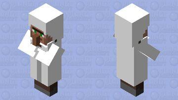 [for dantdm] Dr.Trayaurus Minecraft Mob Skin