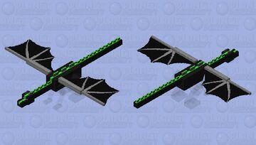 Fast invisible dragon Minecraft Mob Skin