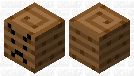 angry ancient debris Minecraft Skin