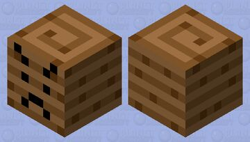 angry ancient debris Minecraft Mob Skin