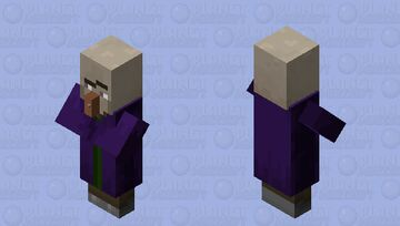 Hey witch, where is your hat? Minecraft Mob Skin