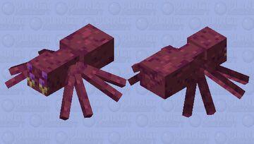 Creepy Spider Thing Minecraft Mob Skin