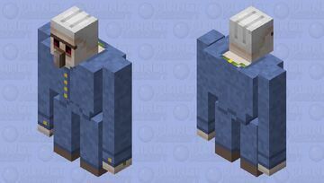 Business Iron Golem Minecraft Mob Skin