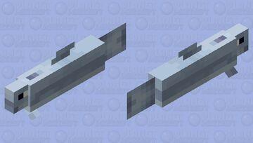 Baby Dolphin Minecraft Mob Skin