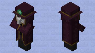 villager epidemic doctor Minecraft Mob Skin