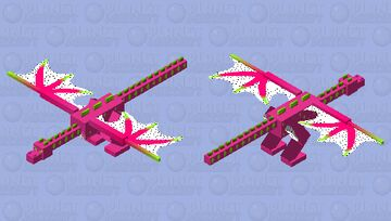 Dragon Fruit Minecraft Mob Skin