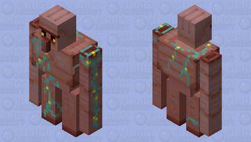 Iron Golem But Nether Minecraft Mob Skin