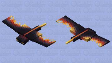 Nether Phantom Minecraft Mob Skin