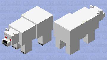 Minecraft polar bear but beter Minecraft Mob Skin