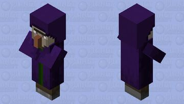 witch villager Minecraft Mob Skin