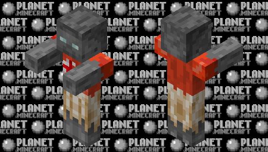 Fungus zombie Minecraft Skin