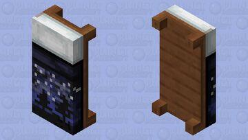 Night Sky Bed HD Minecraft Mob Skin