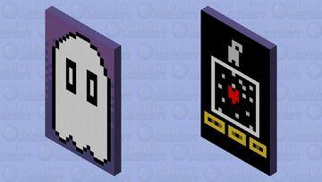 Undertale Napstablook Cape HD x2 Minecraft Mob Skin