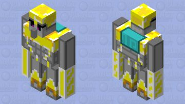 Illager allies: Gale knight Minecraft Mob Skin