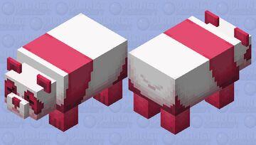 - _ - strawberry panda - _ - Minecraft Mob Skin