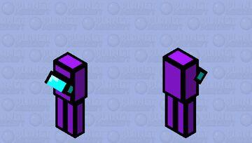 Impostor Purple Minecraft Mob Skin