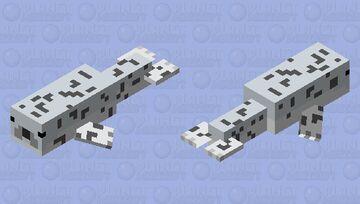 gray seal Minecraft Mob Skin