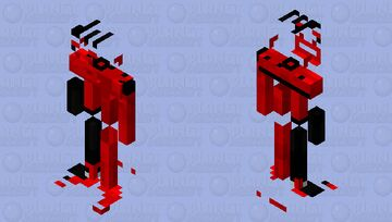Red hulk armor stand Minecraft Mob Skin
