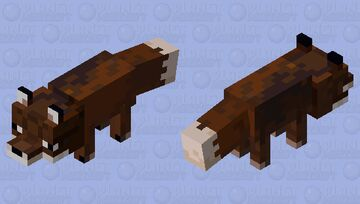 Fox (For a Texture Pack) Minecraft Mob Skin