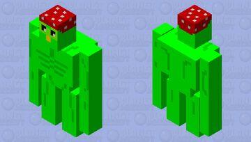 Ricarduolingo (hat version) Minecraft Mob Skin