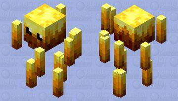 Cute Blaze Minecraft Mob Skin