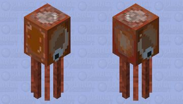 More Accurate Squid Minecraft Mob Skin