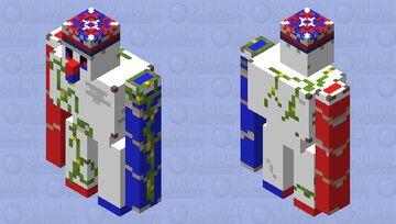 happy 4th (iron golem) Minecraft Mob Skin