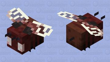 Nether Bee Minecraft Mob Skin