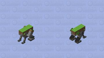 This chunk has legs Minecraft Mob Skin