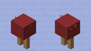 Walking popsicle and for some reason walks on lava and doesn`t melt Minecraft Mob Skin