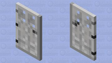 Iron Door Cape Minecraft Mob Skin