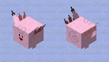 Clefable Minecraft Mob Skin